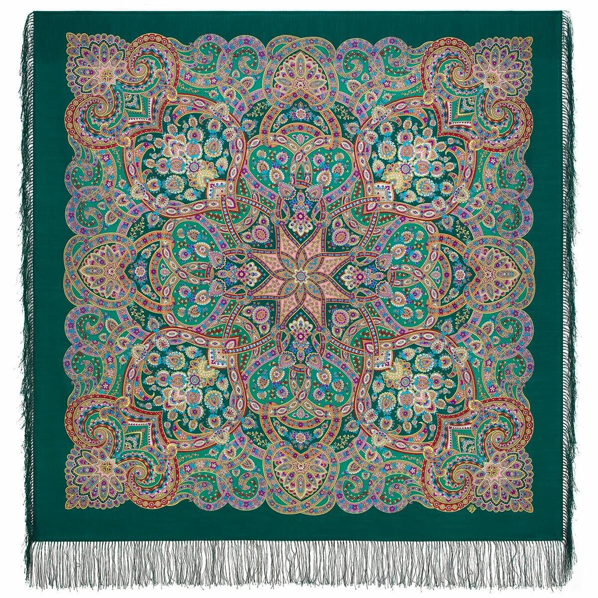 Pavlovo posad shawl «Festive City» 1921-9